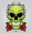 Skull ornament vector | Price: 3 Credits (USD $3)