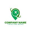 summer travel logo icon template logo vector image vector image