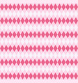 valentine dayr argyle pattern scottish cage vector image vector image