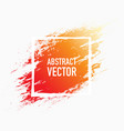 abstract splash paint vector image vector image