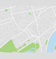 city map navigational template vector image