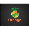 farming fruit orange fruit logo design inspiration