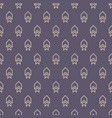 seamless color pattern with arrows motif vector image vector image