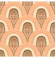 Geometric pattern in art deco style in soft colors vector image