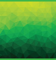 background green color polygonal geometric vector image