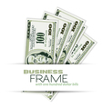 business frame vector image vector image
