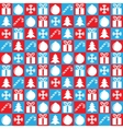 Christmas background square vector image vector image