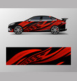 graphic abstract racing designs for vehicle