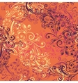 Seamless abstract floral pattern 6 vector image vector image