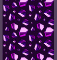 Seamless background of amethyst stone crystal