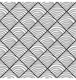 seamless pattern with a semicircle vector image