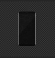 smartphone with broken display vector image vector image