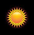 solar gradation color vector image vector image