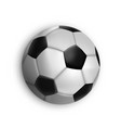 sport game event soccer ball isolated vector image vector image