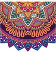 vintage mandala colorful circle design imag vector image