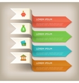 Finance banners horizontal set vector image
