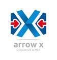 penta house arrow design icon symbol vector image vector image