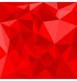 Red triangle background or seamless pattern vector image vector image