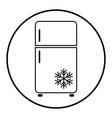 refrigerator 10 vector image vector image