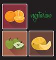 vegan3 vector image vector image