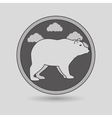 wild bear design vector image