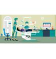 dentist vector image