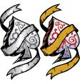 ace of spades tattoo vector image vector image