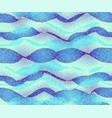 blue water waves background vector image