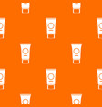 cosmetic cream tube pattern seamless vector image vector image