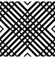 grid mesh seamless geometric pattern monochrome vector image vector image
