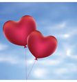 Heart Shaped Balloons4 vector image vector image