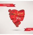 I love you T-Shirt Design Template for your design