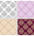 Seamless ethnic summer pattern set vector image vector image