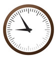 big wall clock eps 10 vector image