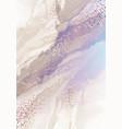 hologram violet blue and pastel gold ripple vector image