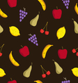 Pattern fruits vector image vector image
