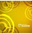 tech abstract background concept for you design vector image vector image