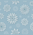 Abstract Christmas background seamless pattern vector image
