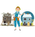 House flipper vector image vector image