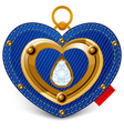 jewelry heart vector image vector image
