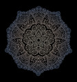 mandala circular ornament on a vector image