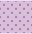 small violet flowers seamless pattern vector image vector image