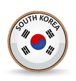 South Korea Seal vector image