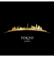 Tokyo Japan city skyline Detailed silhouette vector image vector image