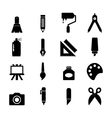 Art tool Icon vector image vector image