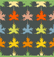 fall seasonal background maple leaf seamless vector image