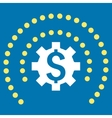 Financial Industry Protection Flat Icon vector image vector image
