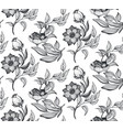 floral seamless pattern romantic elegant vector image