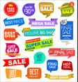modern labels badges and tags 3 vector image vector image