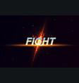 modern professional fighting template logo design vector image vector image